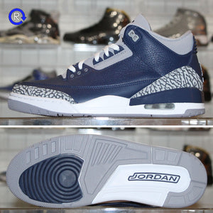'Georgetown' Air Jordan 3 (2021) | Size 10.5 Brand new, deadstock.