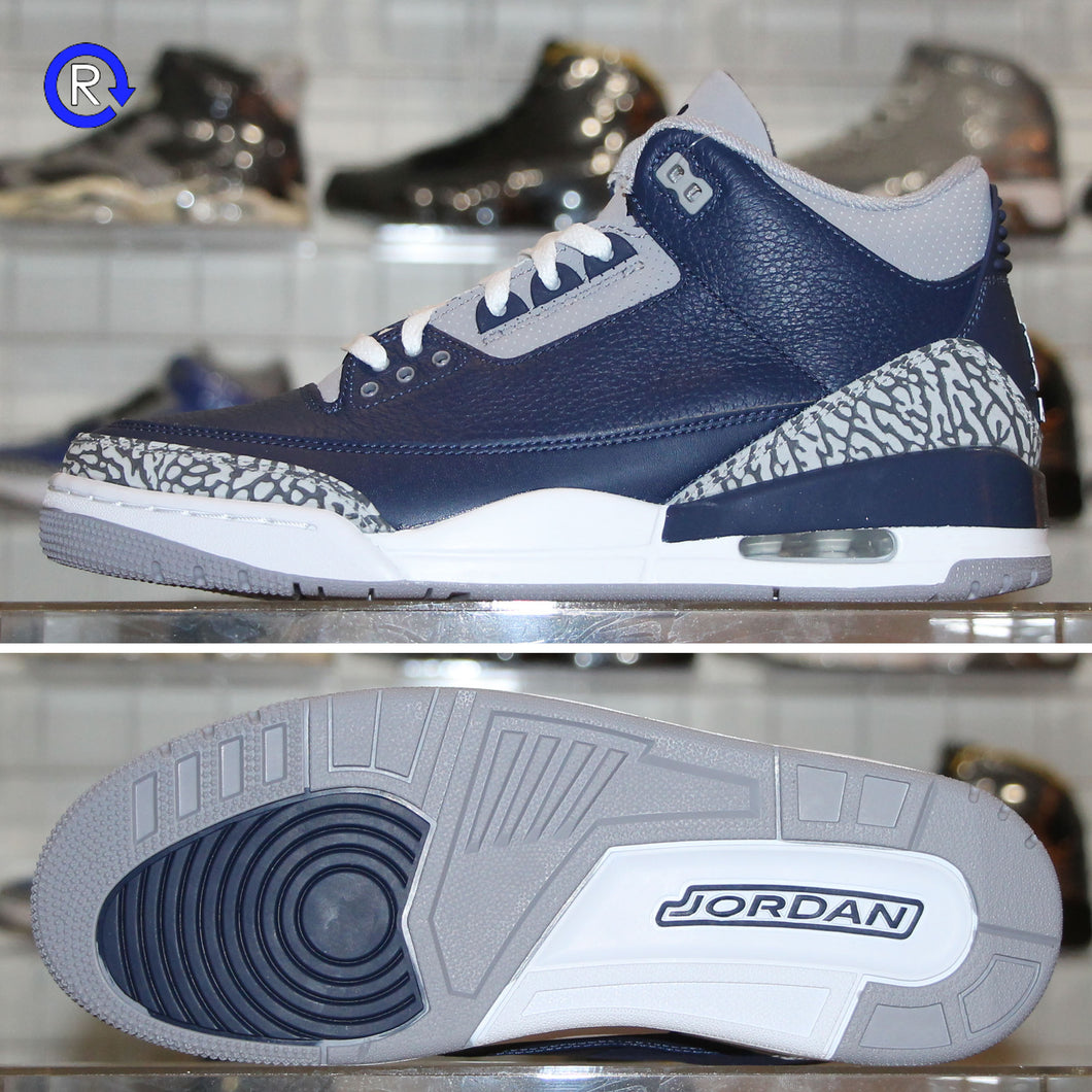 'Georgetown' Air Jordan 3 (2021) | Size 9.5 Brand new, deadstock.