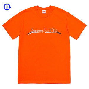 Supreme Orange Fuck You Tee (FW18)