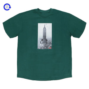 Supreme x Mike Kelley Dark Green The Empire State Building Tee (FW18)