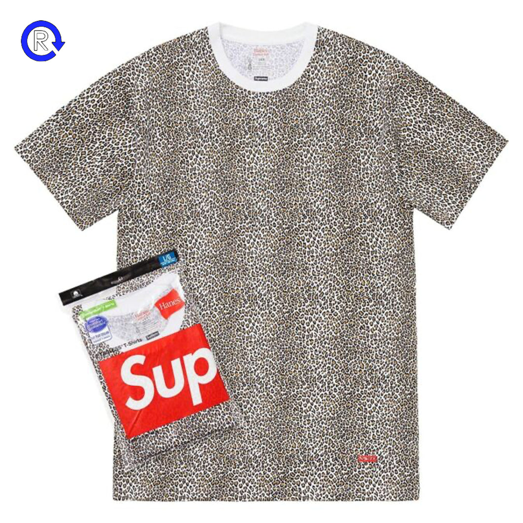 Supreme Hanes Leopard Tagless Tees (2 Pack)