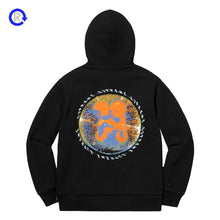 Supreme Black Embryo Hooded Sweatshirt (SS20)