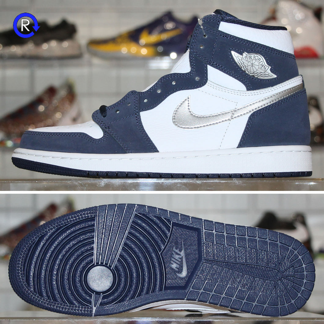 'Midnight Navy' Air Jordan 1 High COJP (2020) | Size 9 Brand new, deadstock.
