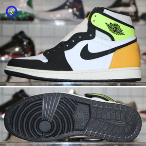 'Volt/University Gold' Air Jordan 1 High OG (2020) | Size 9 Brand new, deadstock.