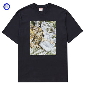 Supreme Navy Bling Tee (SS20)