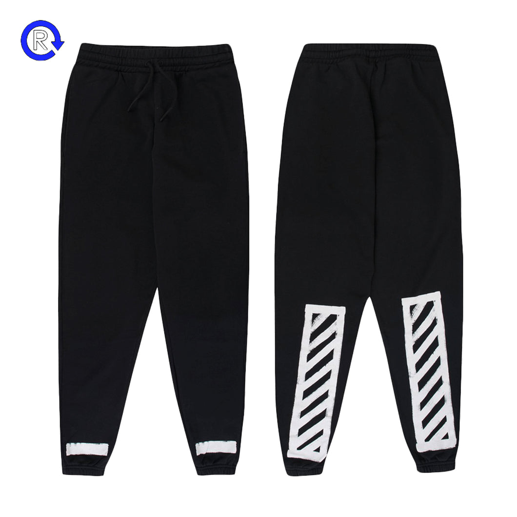 Off-White Black Striped Sweatpants (FW16)