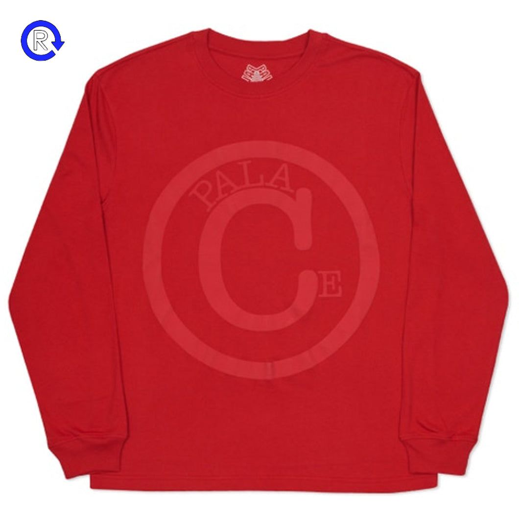 Palace Red Copy LS Tee (SS16)