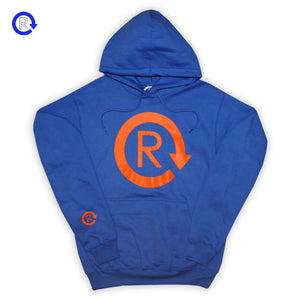 Refresh 'Royal/Orange' Classic Logo Hoodie (FW20)