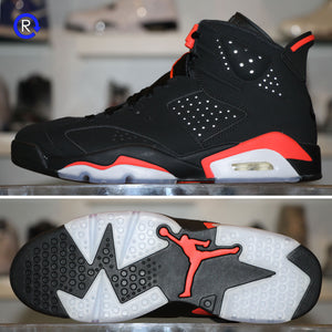 'Black/Infrared' Air Jordan 6 OG (2019)