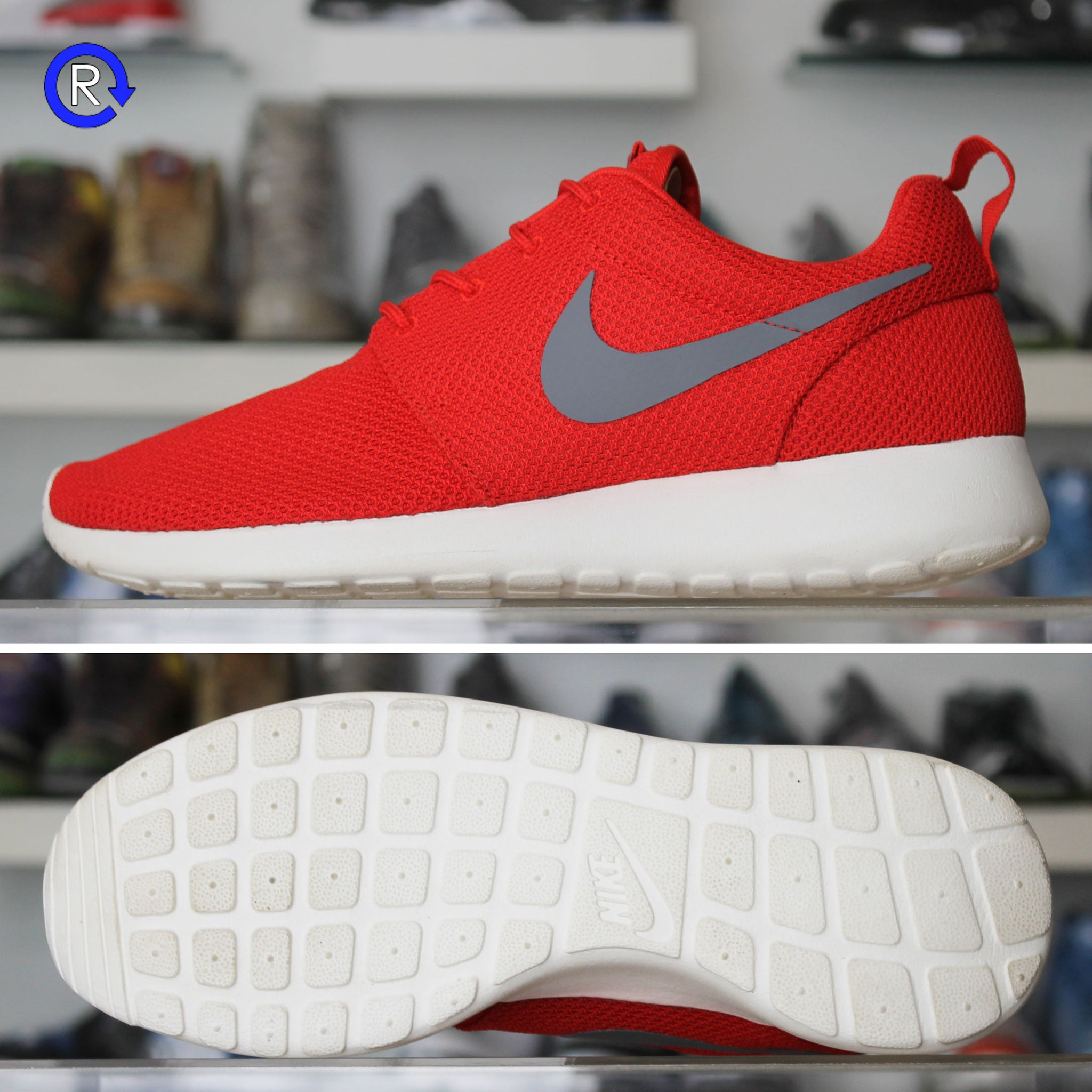 a8272b65d430 Gym Red Grey  Nike Roshe Run – Refresh PGH