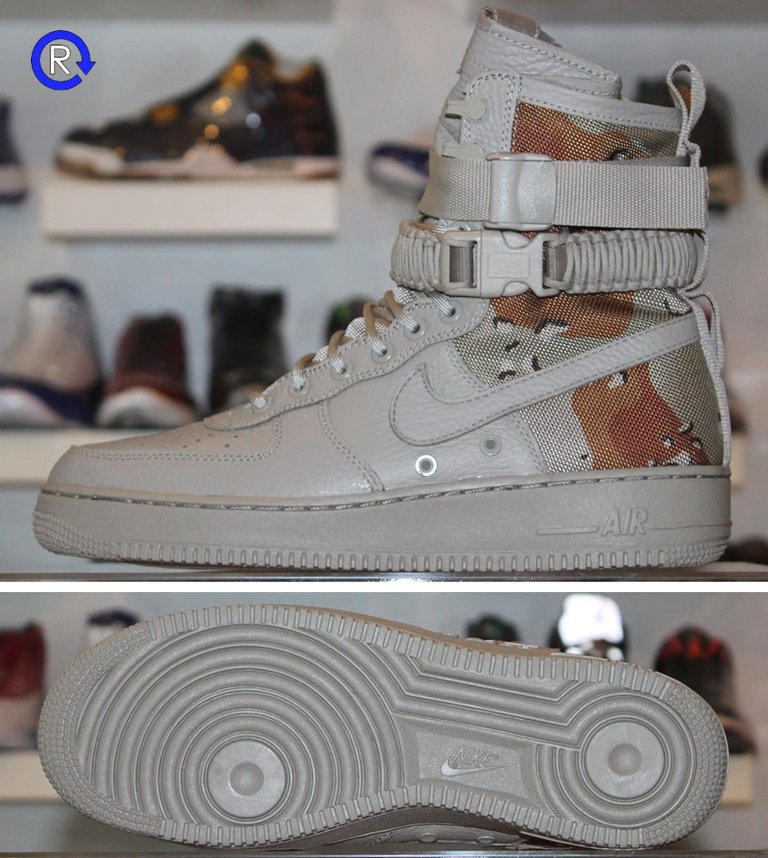 'Desert Camo' Air Force 1 SF Special Forces (2017)