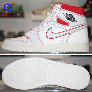 'Phantom/Gym Red' Air Jordan 1 High OG (2019)