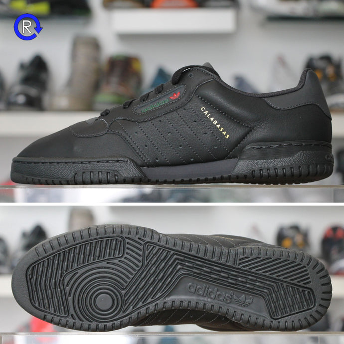 'Calabasas Core Black' Adidas Yeezy Powerphase (2018) | Size 9 Brand new, deadstock.