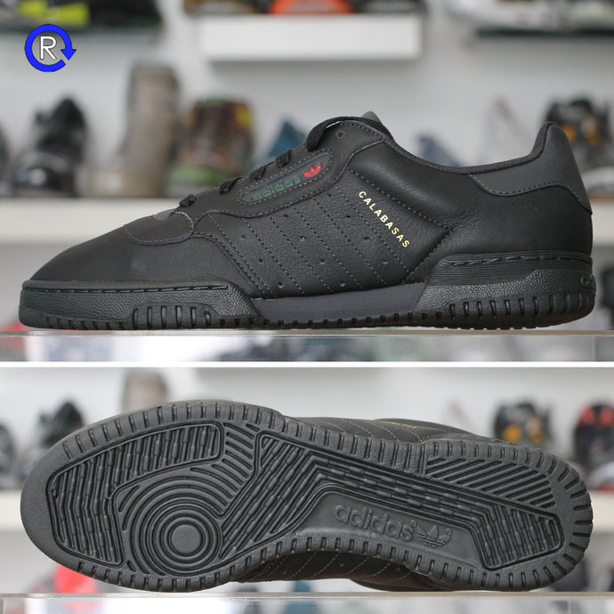 'Calabasas Core Black' Adidas Yeezy Powerphase (2018) | Size 6 Brand new, deadstock.