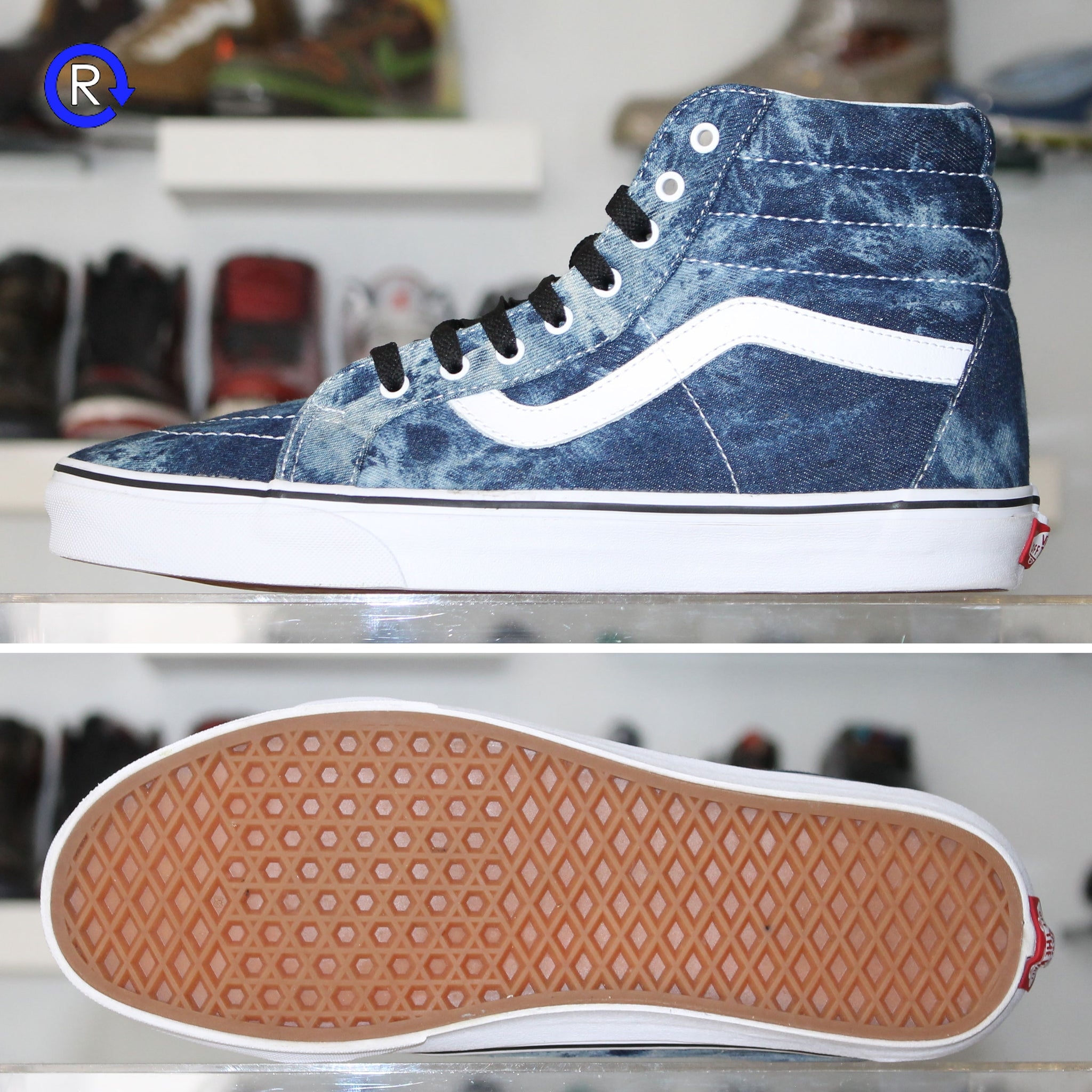 74aed8cf13 Acid Denim  Vans Sk8-Hi – Refresh PGH