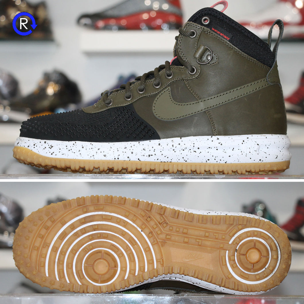 'Black/Dark Loden' Nike Lunar Force 1 Duckboot