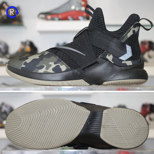 outlet store 02ea0 b6f60 'Camo' Nike LeBron Soldier 12 SFG (2018)