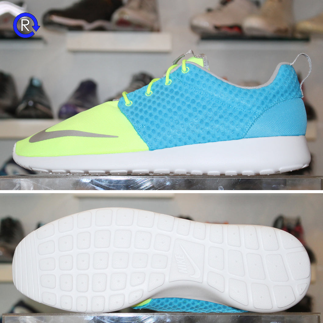 'Current Blue/Hot Lime' Roshe Run FB (2013)