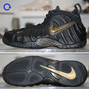 big sale e39c4 c16d9 'Black/Metallic Gold' Foamposite Pro (2018)