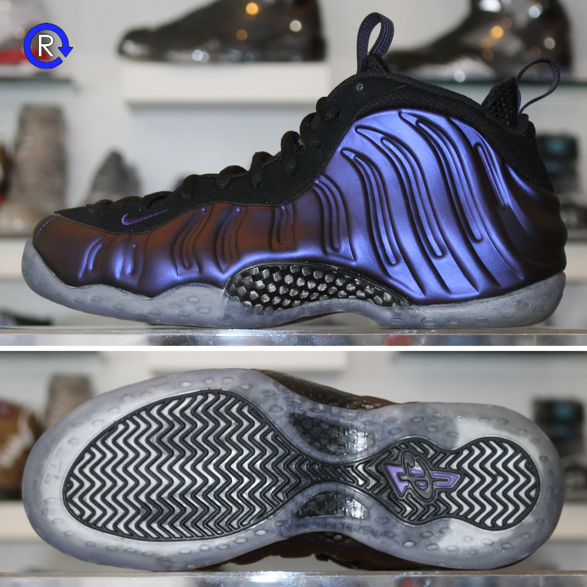 reputable site f6e39 98784  Eggplant  Foamposite One (2017) ...