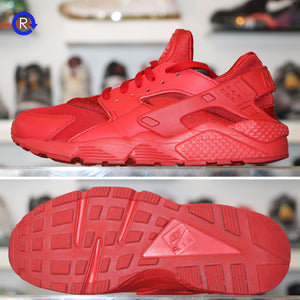 watch 07ac9 6a3a1 'Triple Red' Nike Huarache