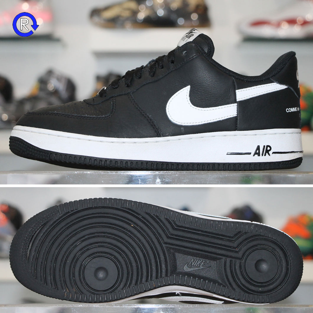 sale retailer 91028 b4c21 'Black/White' Supreme x Comme des Garçons Air Force 1 Low (2018)
