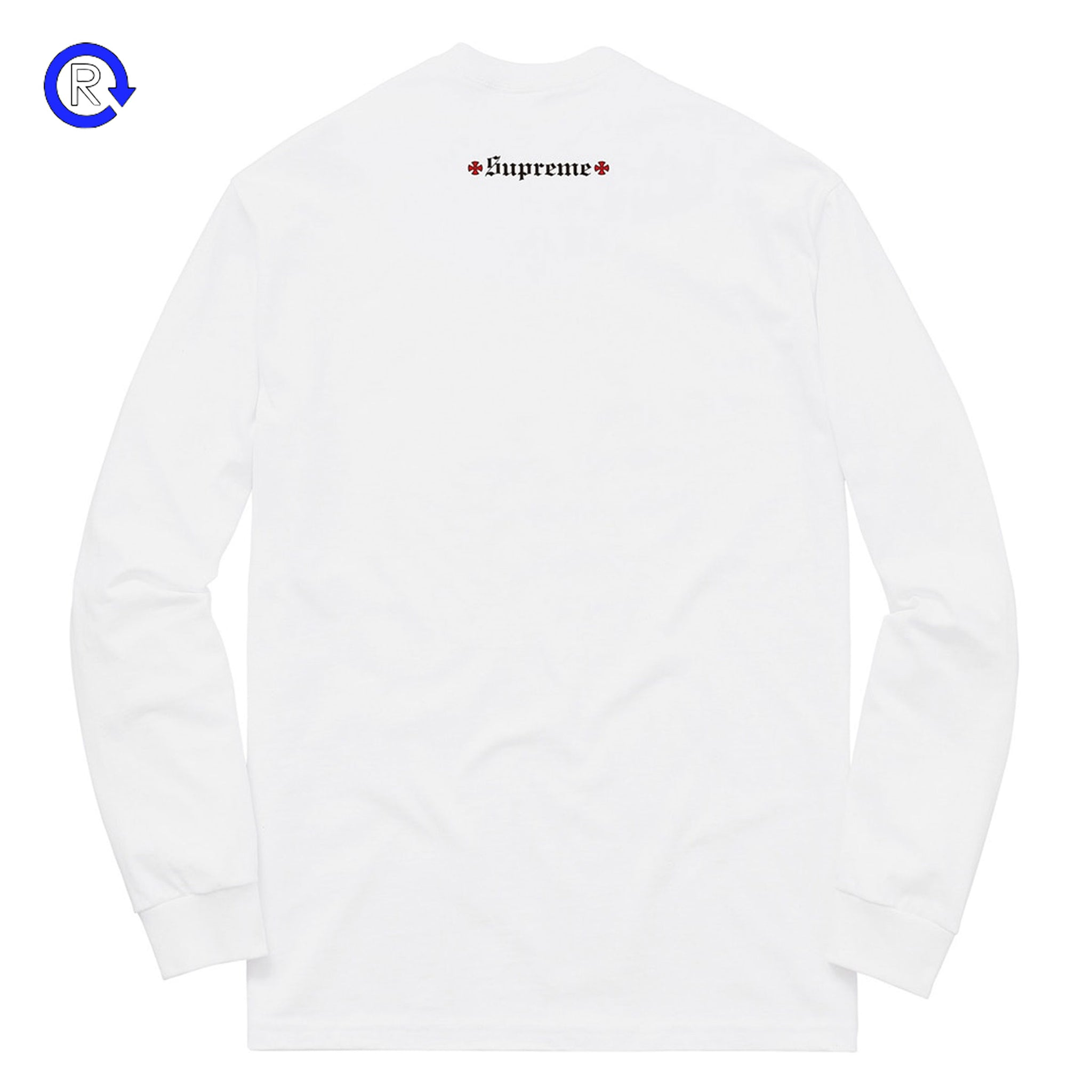 98574ee4b95 Supreme x Independent White Fuck The Rest LS Tee (FW17) – Refresh PGH