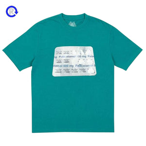 Palace Sea Green Palacetamol Tee