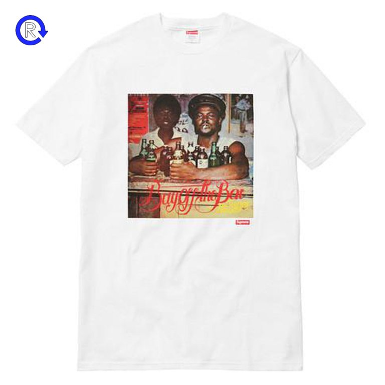 Supreme White 'Limonious Buy Off the Bar' Tee (SS17)