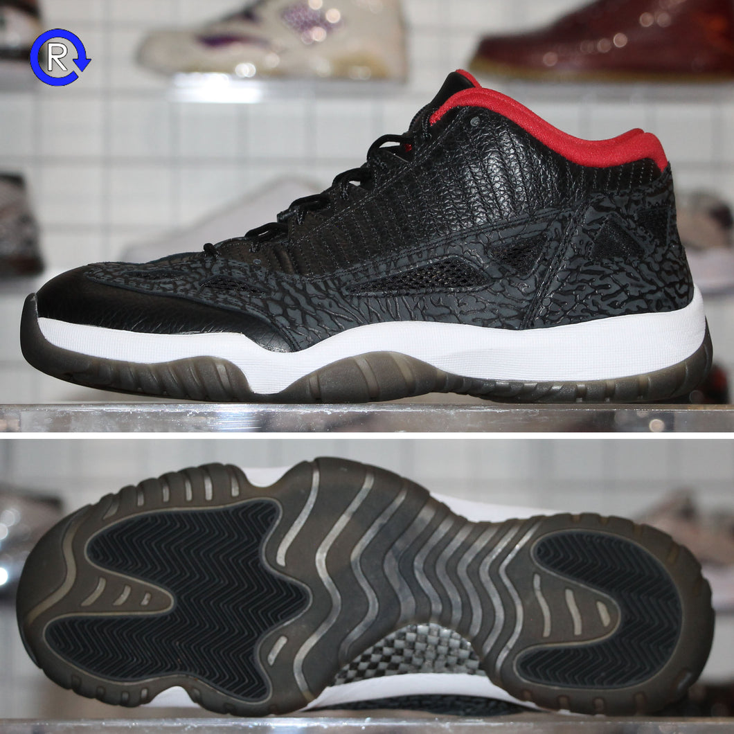 'Black Varsity Red' Air Jordan 11 Low IE (2011) | Size 10.5 Condition: 9.5/10.