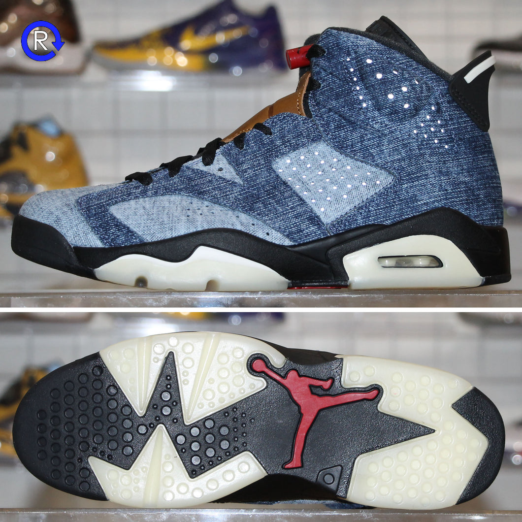 'Washed Denim' Air Jordan 6 (2019) | Size 10 Brand new, deadstock.