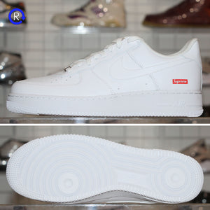 'White' Supreme x Nike Air Force 1 Low (2020) | Size 11.5 Brand new, deadstock.
