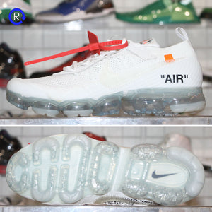"""Off-White"" White Nike Air Vapormax (2018) 