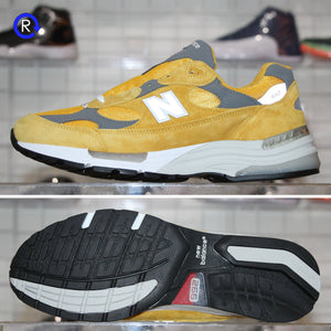'Yellow/Grey' New Balance 992 | Size 11 Brand new, deadstock.