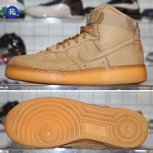'Flax' Air Force 1 High (2017) | Size 8.5 Condition: 8/10.