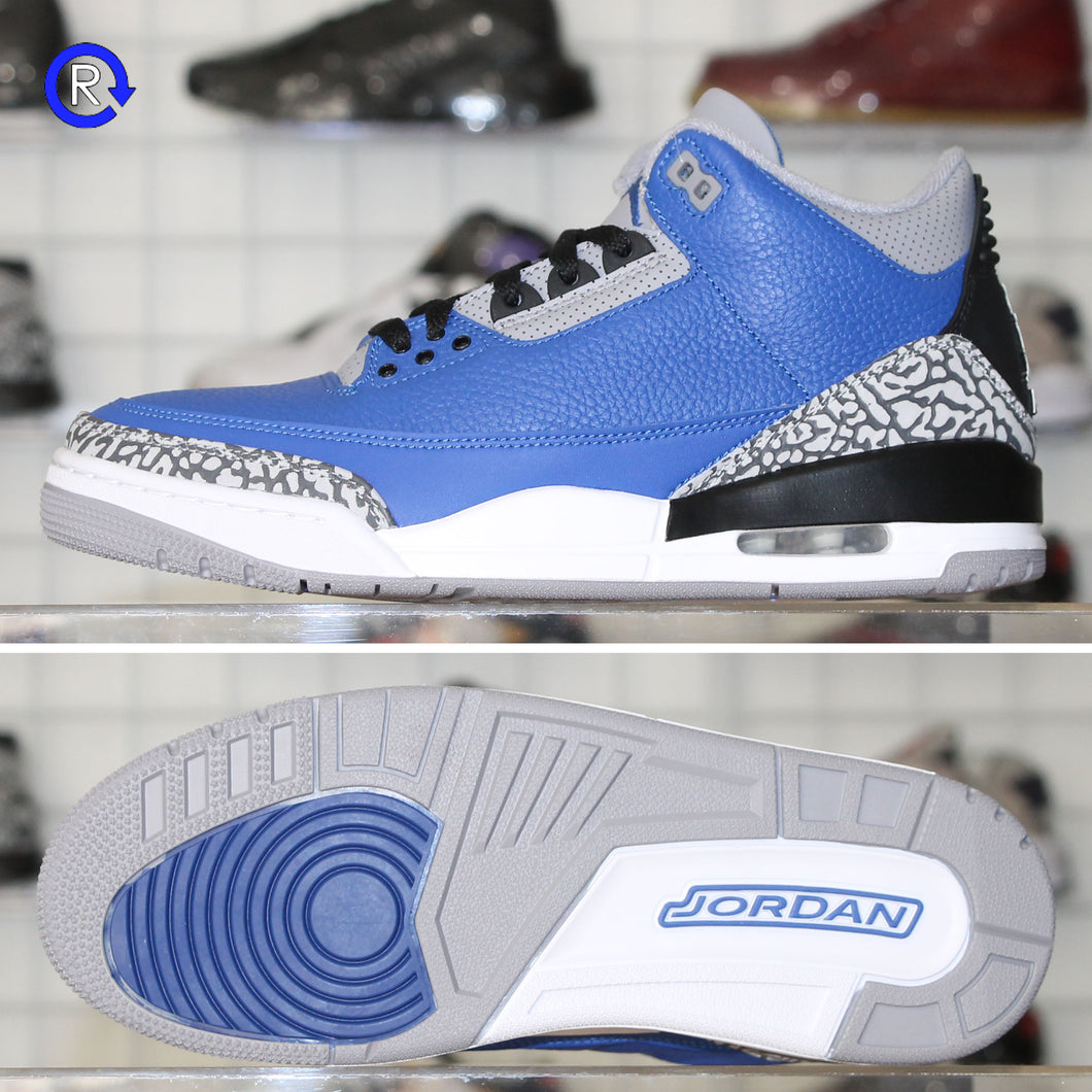 'Varsity Royal/Cement' Air Jordan 3 (2020) | Size 8.5 Brand new, deadstock.