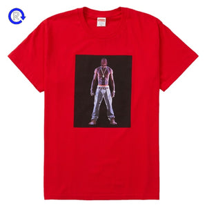 Supreme Red Tupac Hologram Tee (SS20)