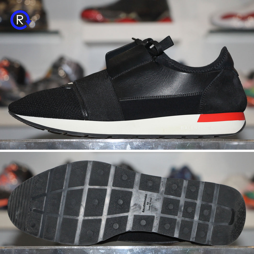 'Black/Red' Balenciaga Race Runner