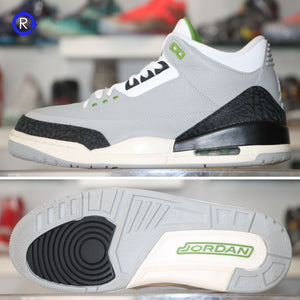 'Chlorophyll' Air Jordan 3 (2018) | Size 9 Condition: 9/10.