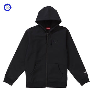 Supreme Black Windstopper Zip Up Hooded Sweatshirt (FW18)