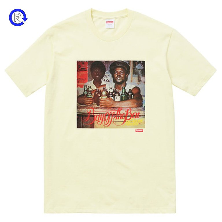 Supreme Pale Yellow 'Limonious Buy Off the Bar' Tee (SS17)