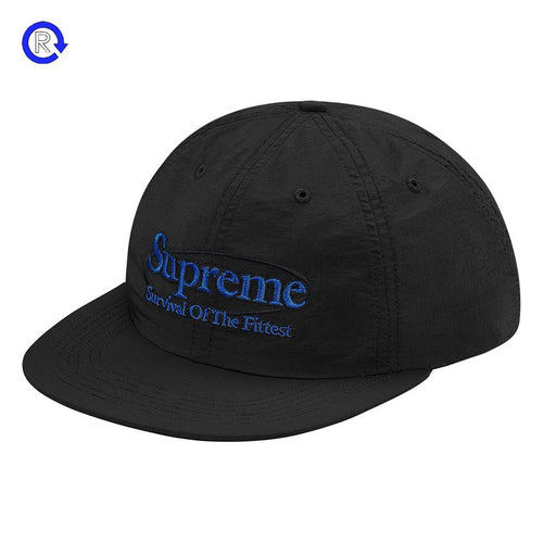 ec081e375ff Supreme  Black  Survival Nylon 6-Panel (FW17)