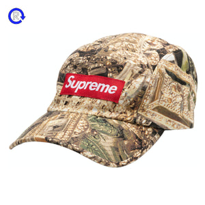 Supreme Green Bling Camp Cap (SS20)