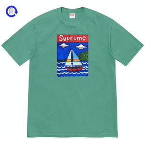 Supreme Dusty Teal Sailboat Tee (SS20)