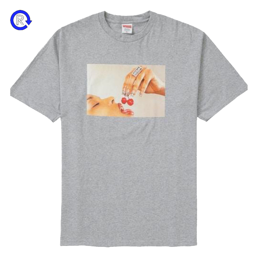 Supreme Heather Grey Cherries Tee (SS20)