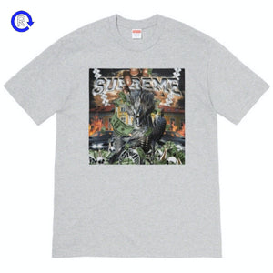 Supreme Heather Grey Dragon Tee (SS20)