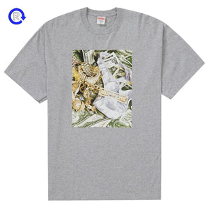 Supreme Heather Grey Bling Tee (SS20)