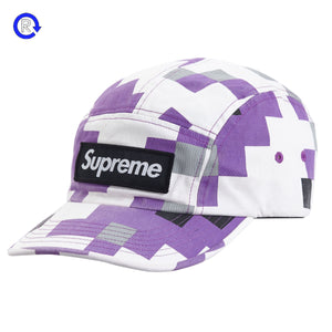 Supreme Purple Military Camp Cap (FW20)