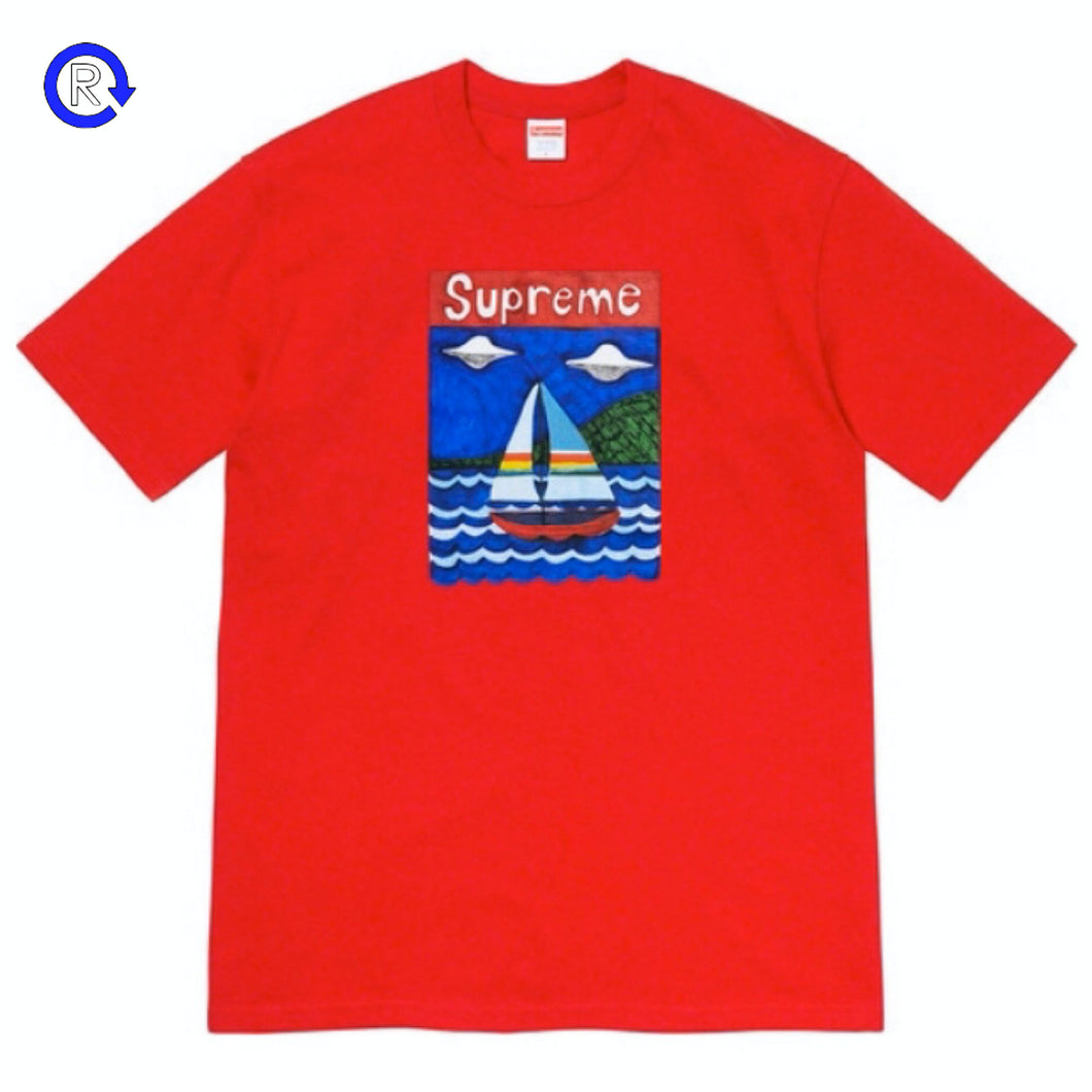 Supreme Red Sailboat Tee (SS20)