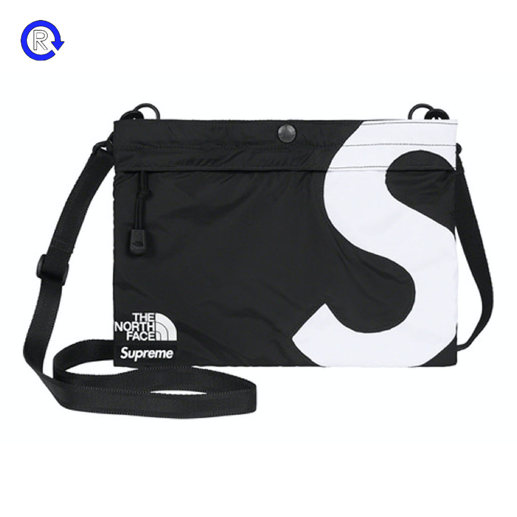 Supreme x The North Face Black S Logo Shoulder Bag (FW20)